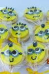 Bolacha decorada festa Minions4 Valinhos Sjcampos
