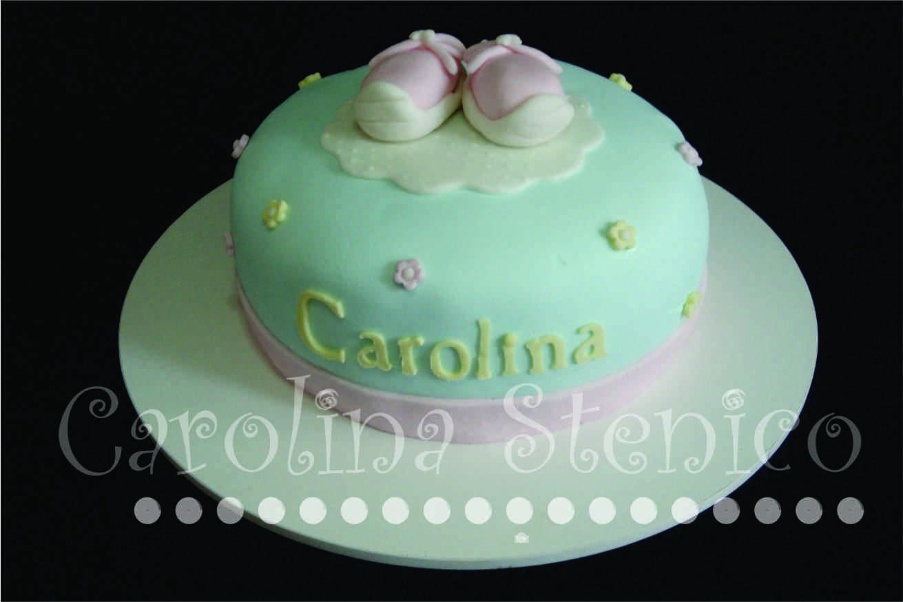 Chá De Bebê Batizado Menina Carolina Stenico Confeitaria Artística