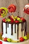 drip cake natal Drip Cake Natalino